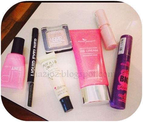 en sık kullandığım kozmetik ürünleri