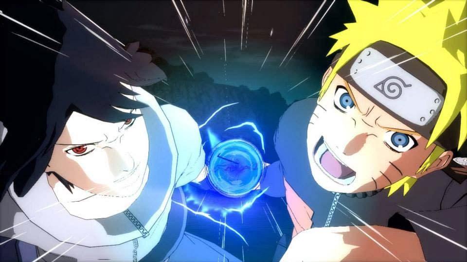 Sasuke Naruto Combined Ultimate Jutsu Revolution