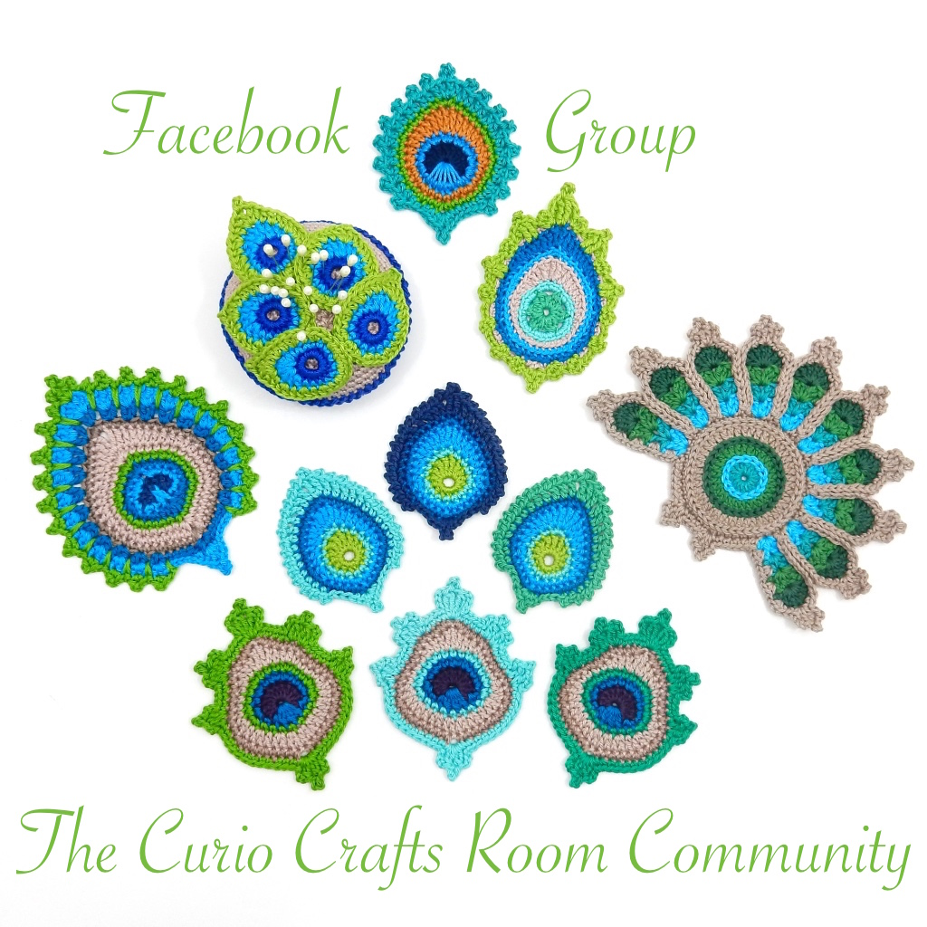 Join My Facebook Group: The Curio Crafts Room Community ~ click the photo to join
