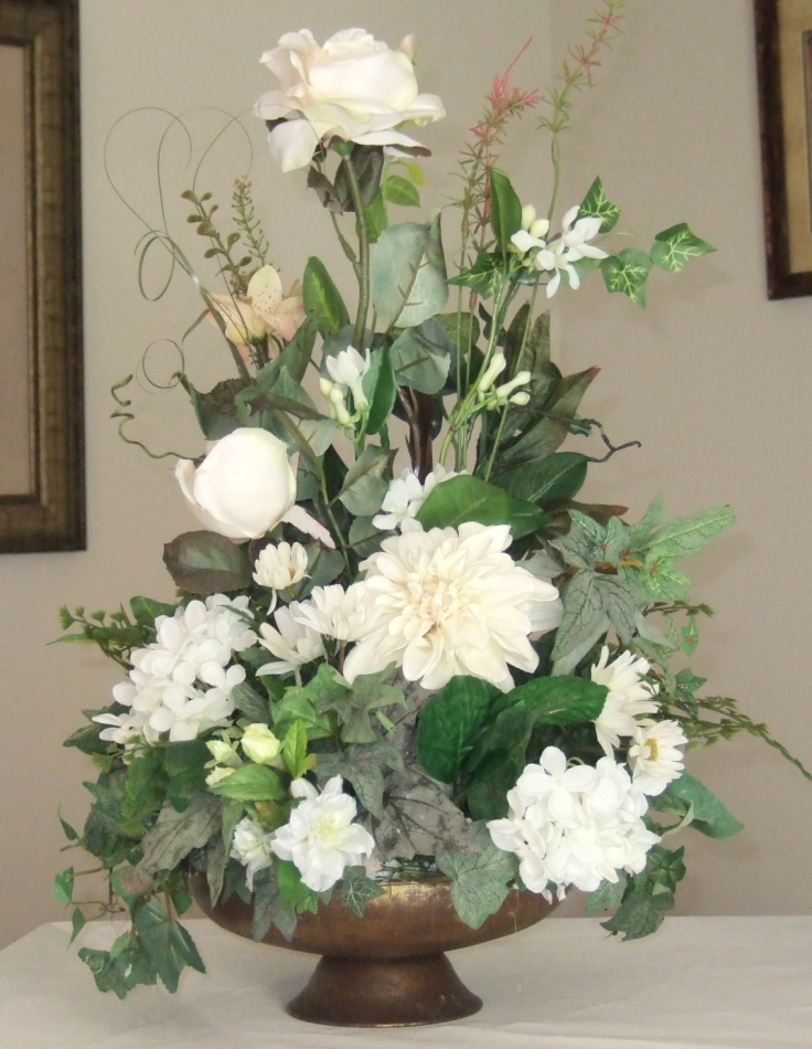 Ana silk flowers pictures silk flowers white - Silk flower arrangement ideas ...