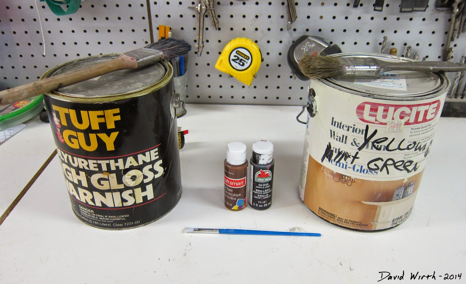 paint and polyurethane, how to weather, weathered wood, adam savage