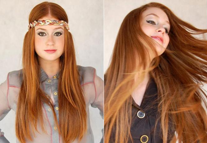 Risultati immagini per cabelo Pontas Caramelo