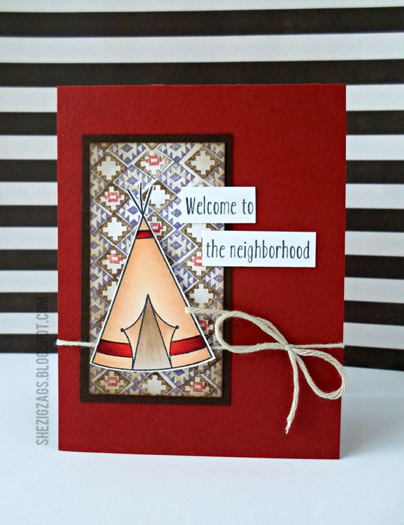 Avery Elle Home Sweet Home Card