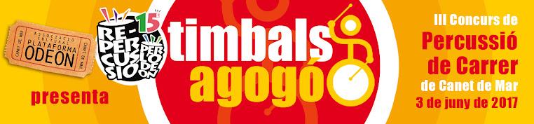 Timbals Agogó 2017 - Tercer concurs de percussió de carrer a Canet de Mar