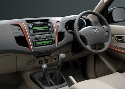 Interior Toyota Fortuner Gen1 Facelift