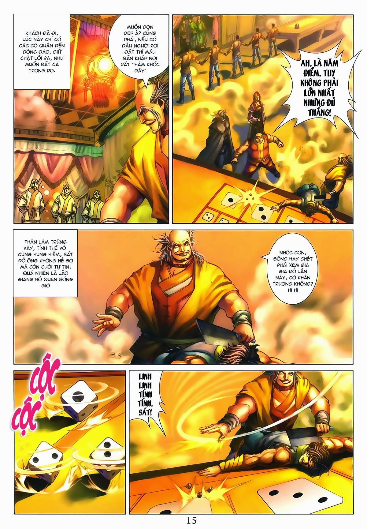 Tứ Đại Danh Bổ Chap 286 - Trang 15