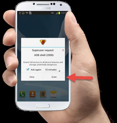 عملاق الروت برنامج king android root افضل واسهل برنامج لعمل روت لهاتفك الاندرويد .