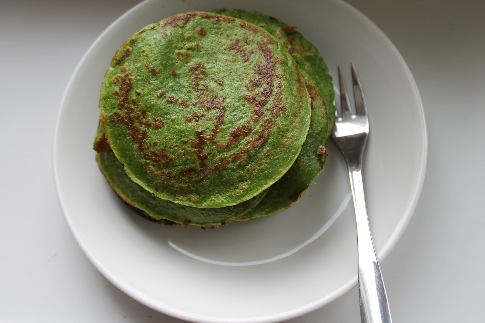 Spinach Protein Pancakes faviana