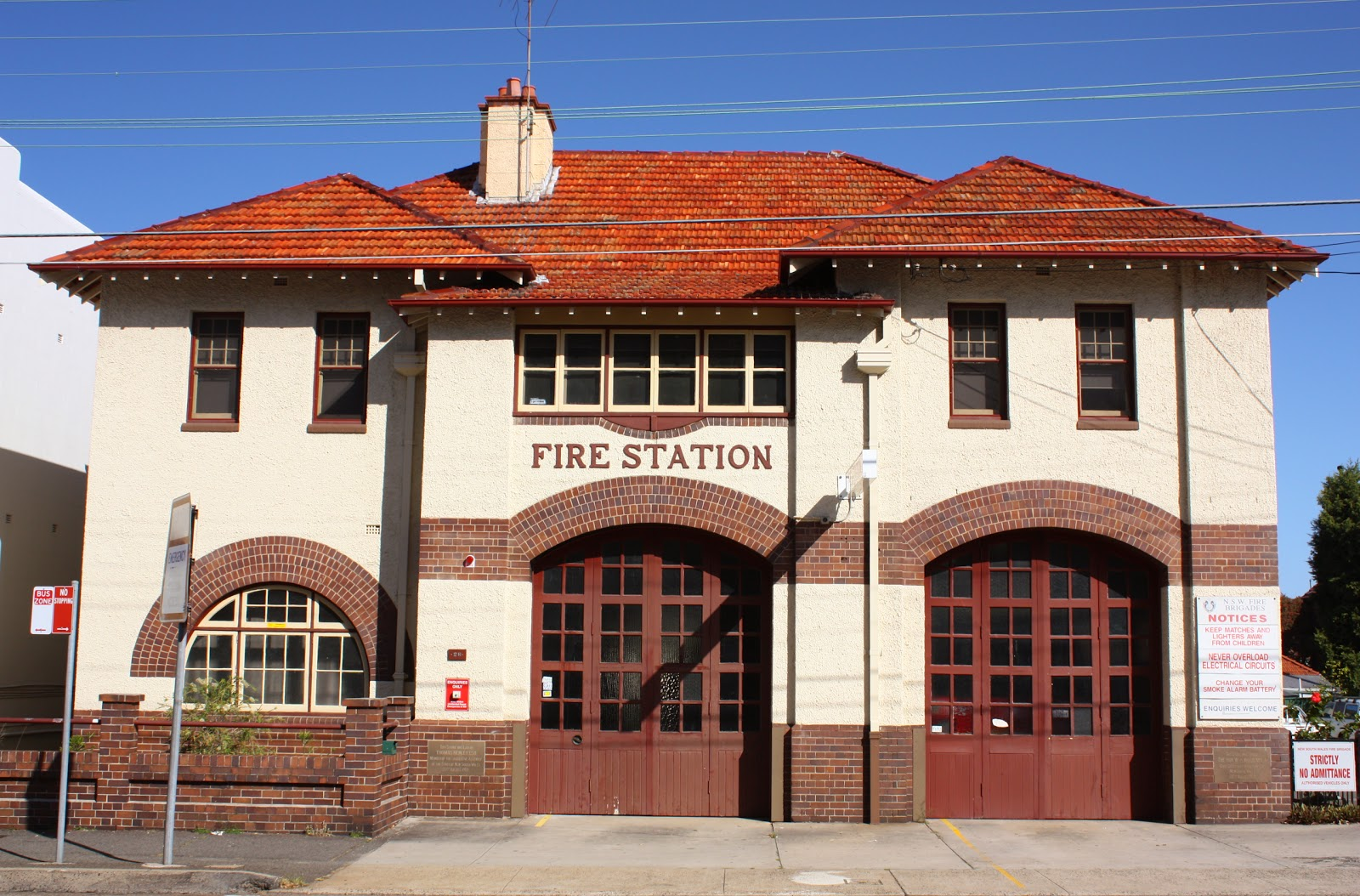 Drummoyne fire station NSW