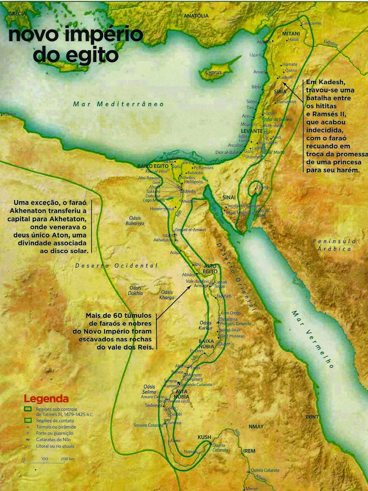 Histria Mundi Ramss II fara do Egito Antigo