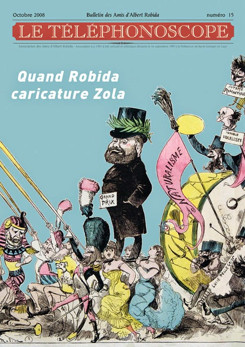 n°15 – Quand Robida caricature Zola