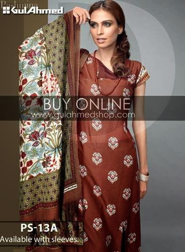 Gul Ahmad Winter 2013 Collection For Ladies