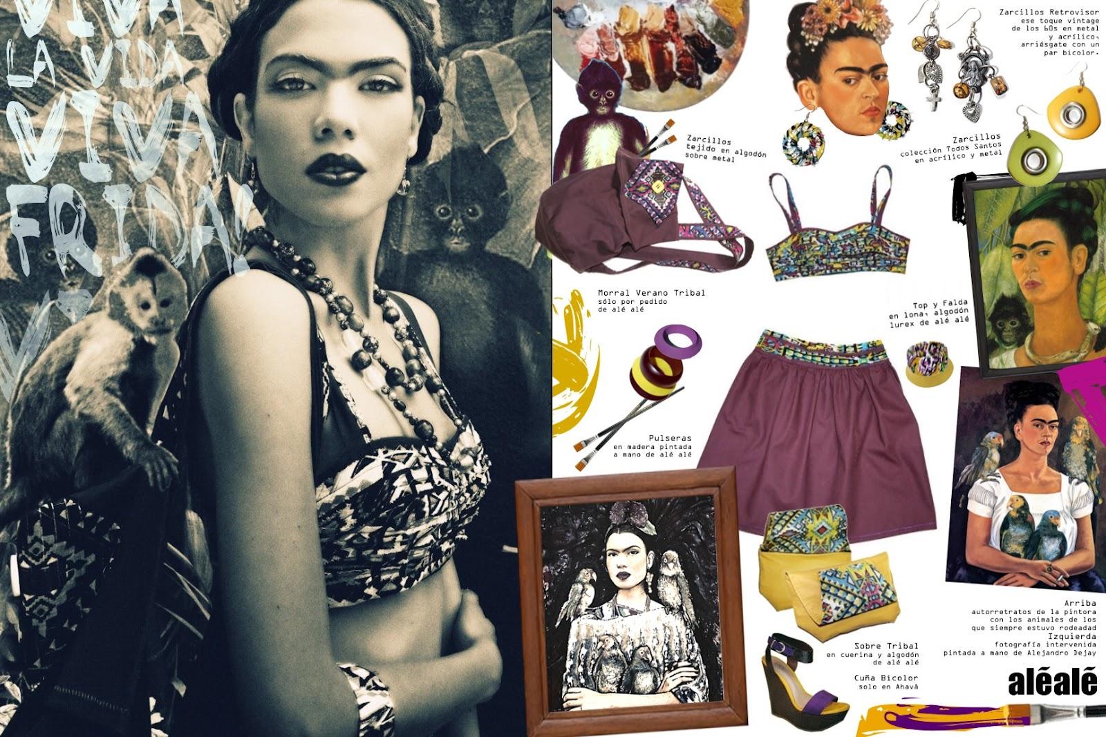 Al al laboratorio de moda al al icono de estilo frida - Estilo frida kahlo ...