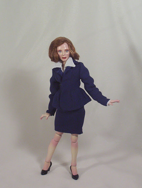 bjd doll dana scully xfiles made to order doll