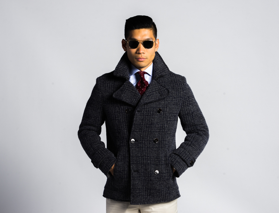 BloggerPROJECT NY Levitate Style | Slate & Stone Peacoat, Randolph Engineering Sunglasses, Menswear, Project NY