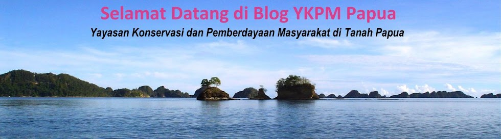 Blog YKPM Papua ( Papua Conservation and People Empowerment Foundation )