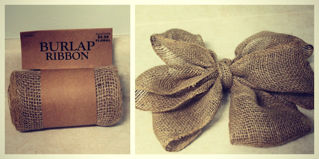 how to make a square boxwood wreath with burlap bow via housebyhoff.blogspot.com