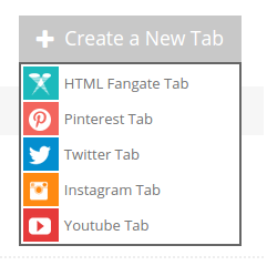 create new tab woobox
