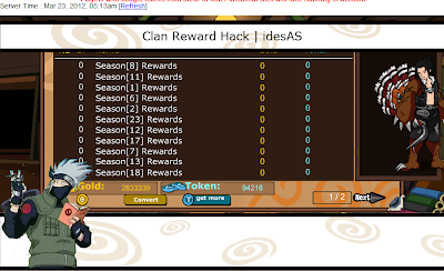 Ninja Saga Hack Clan Reward Season 1 - 23