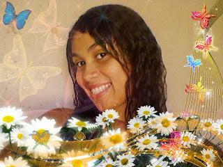 montagem de fotos com flores