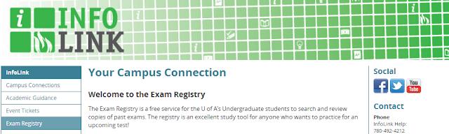 InfoLink Exam Registry