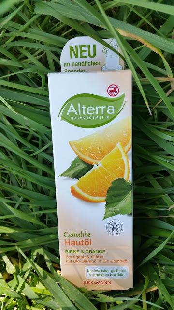 Alterra | Antycellulitowy olejek do ciała brzoza i pomarańcza