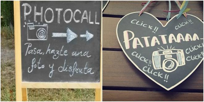 Detalles originales un photocall en tu boda for Photocall boda vintage