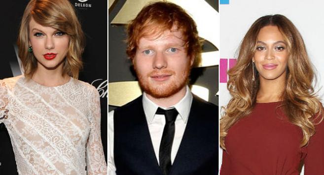 Taylor Swift, Ed Sheeran e Beyoncé lideram indicações no VMA