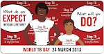 World TB Day (March 24, 2013)