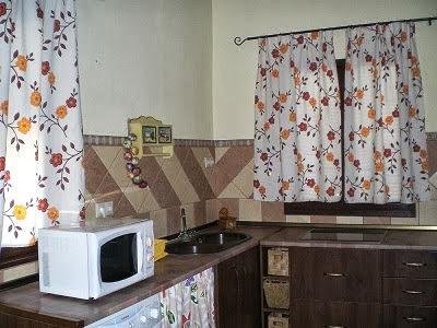 Cocina de la casa pequeña
