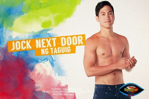 "Pinoy Big Brother's 'PBB:All In' housemate ""Alex Torres"" the Jock-Next-Door ng Taguig."