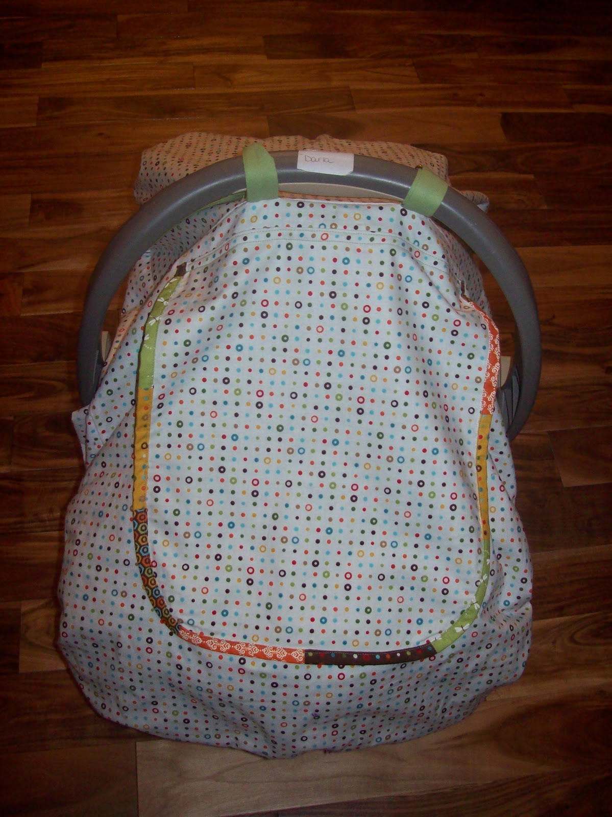 Car Seat Canopy Sewing Instructions