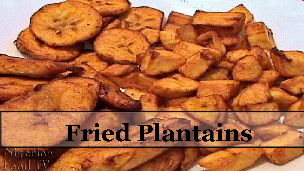 fried plantains How to Fry Plantains (Platanos Maduros / fried sweet ...