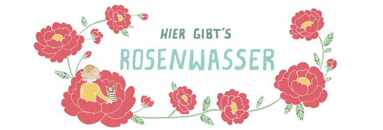 Hier gibts Rosenwasser