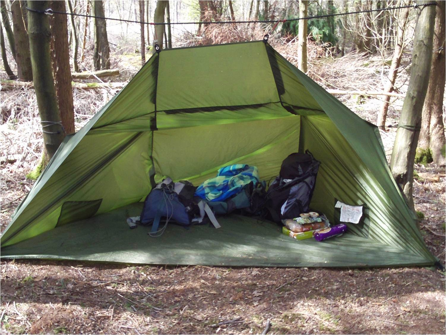 Types Of Lean To Shelter : Guerilla survivalism march