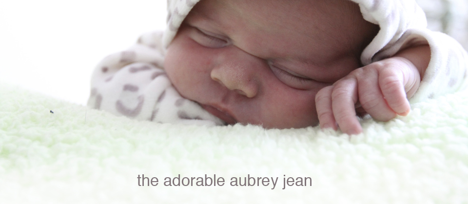 the adorable aubrey jean