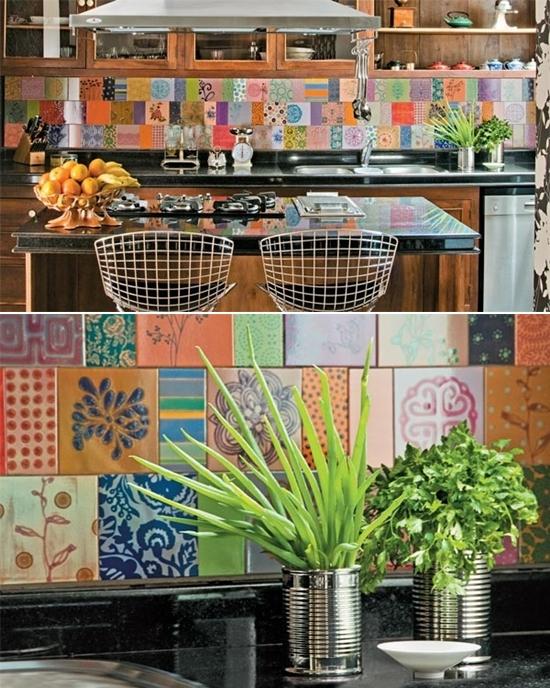 A deco elementos de dise o patchwork de azulejos for Azulejos bano cordoba