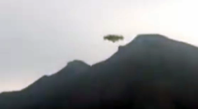 Clear UFO Recorded Over Mountains Of Bolivia 2015, UFO Sightings