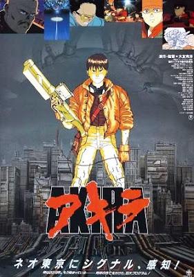 Akira (1988)  movie poster pelicula