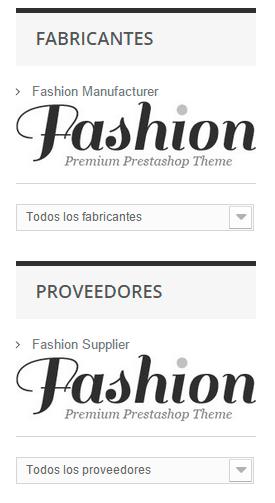 Logos de marca del bloque fabricantes y proveedores de Prestashop