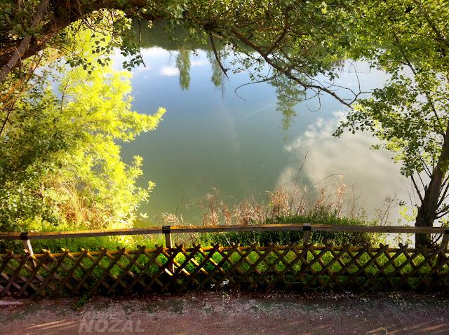 Mirador al río Carrión desde el paseo, 2013 Abbé Nozal