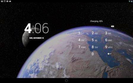 Earth Live Wallpaper with 3D parallax effect