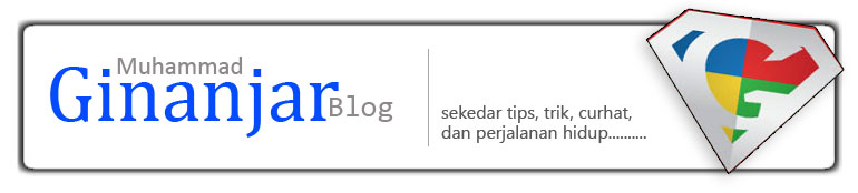 Muhammad Ginanjar Blog