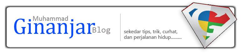 Muhammad Ginanjar Blog