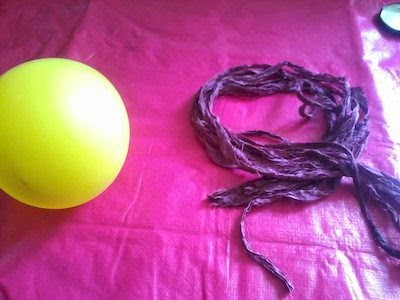 ballon en fair trade sari silk