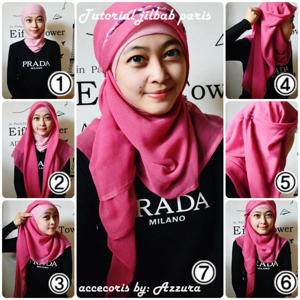 Hijab Tutorial Styles Cara Memakai Jilbab Modis