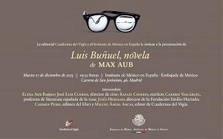 Luis buñuel, Max Aub, Literaturas Hispánicas UAM