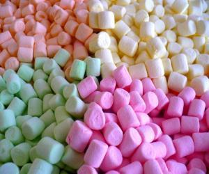 Marshmallow dengan Flavor