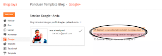 Blogger Otomatis Share Artikel Blog Ke Google Plus (Google+)