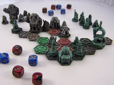 Pocket Tactics 3D printed game